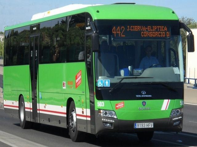 La estación de Juan de la Cierva será la cabecera de las líneas de autobuses que suplan el servicio de metro sur durante las obras de verano