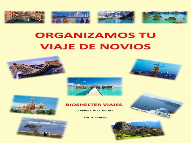 BIOSHELTER VIAJES, AGENCIA DE VIAJES EN GETAFE, BILLETES DE AVIÓN, VUELOS BARATOS, CIRCUITOS, CRUCEROS, VIAJE DE NOVIOS