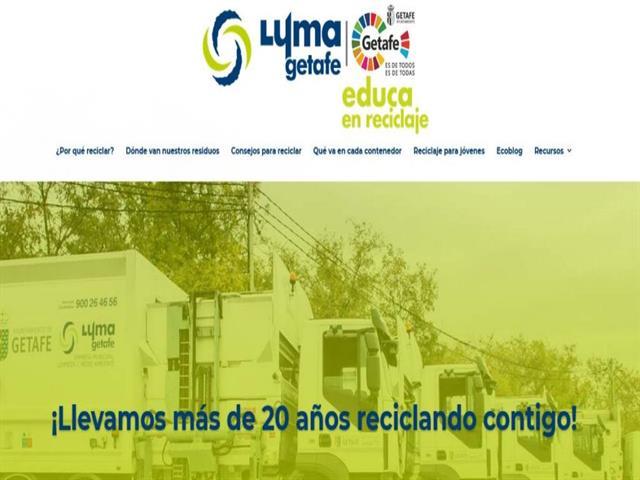 Nace la web educativa de LYMA Getafe