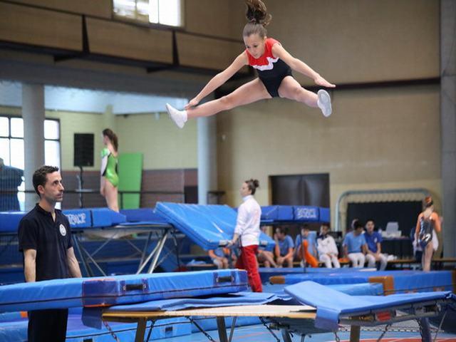 Gimnasia En Trampolin Getafe acoge el vii trofeo comunidad de madrid ...