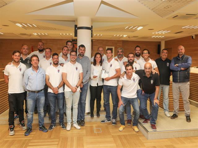 Recepción en el Ayuntamiento al Club Rugby Getafe por su ascenso a 1ª regional