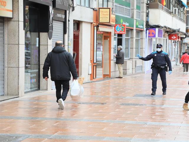 Policía Local ha puesto 307 sanciones en la primera semana del Estado de Alarma