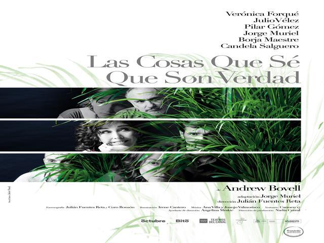 'Las cosas que sé que son verdad' con Verónica Forqué, llega al Teatro Federico García Lorca