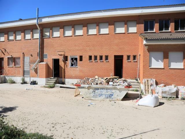 El Ayuntamiento adelanta las obras de verano de mantenimiento y mejora de colegios