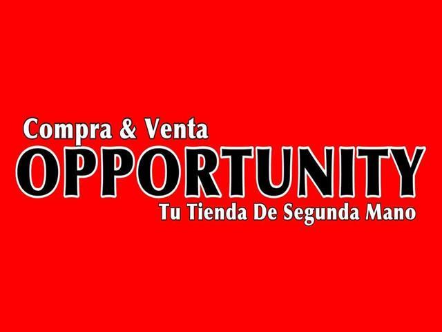 OPPORTUNITY, TIENDA DE SEGUNDA MANO GETAFE, COMPRA VENTA ARTÍCULOS SEGUNDA MANO.