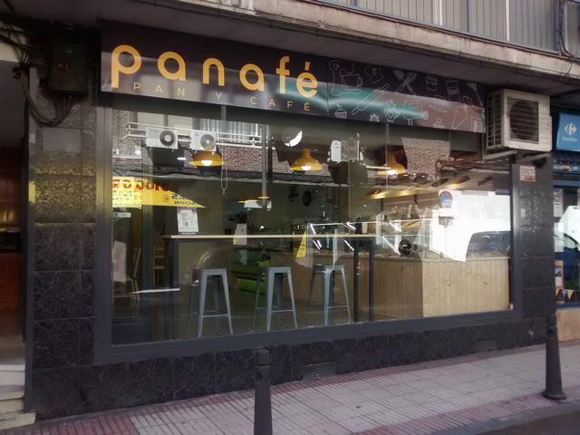 Panaf pan y caf pasteler a caf para llevar for Cafe para llevar
