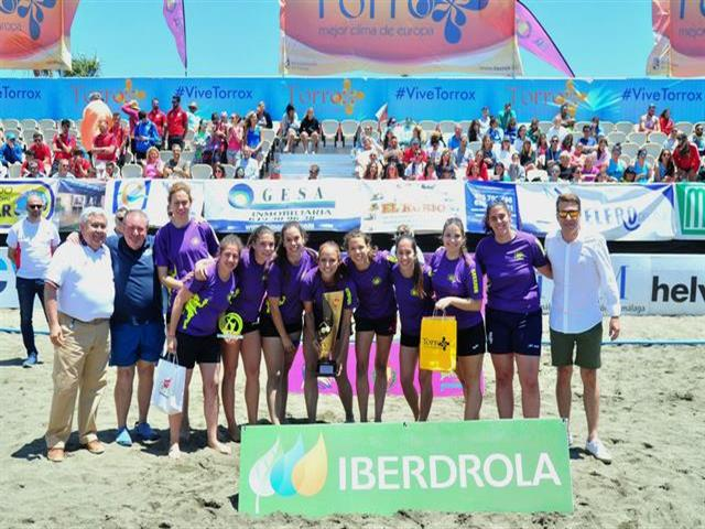 Getasur se proclama campeón de la Copa de España de balonmano playa