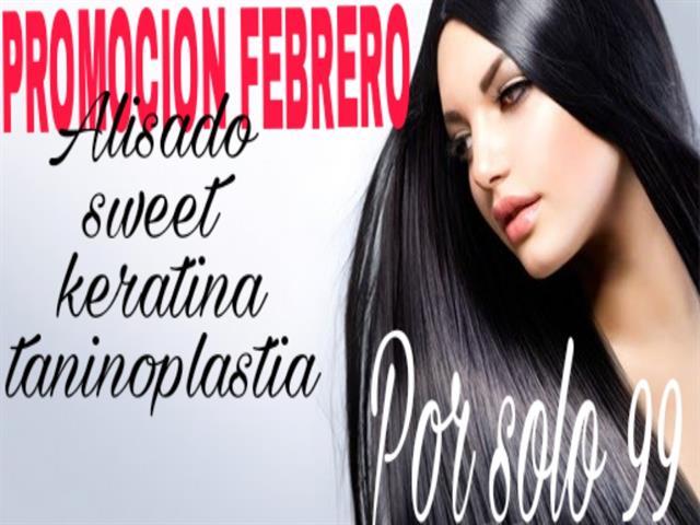 Alisado Sweet Keratina Taninoplástia por sólo 99€