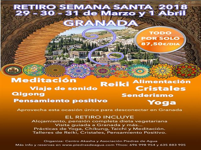 Retiro Semana Santa en Granada