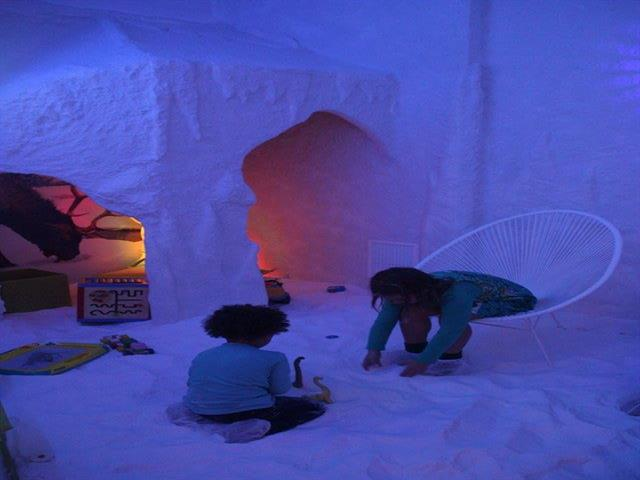 Cuevas de sal para niños