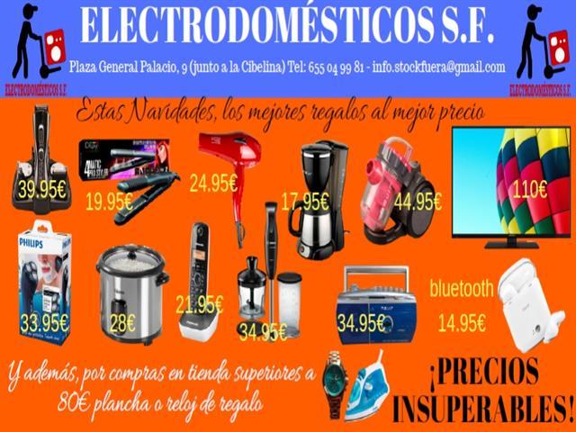 Pequeños electrodomésticos. Los mejores regalos al mejor precio