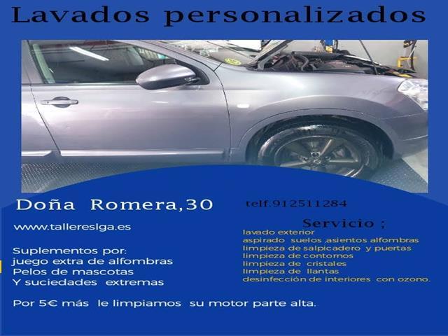 Lavado de coche personalizado 19,95 €