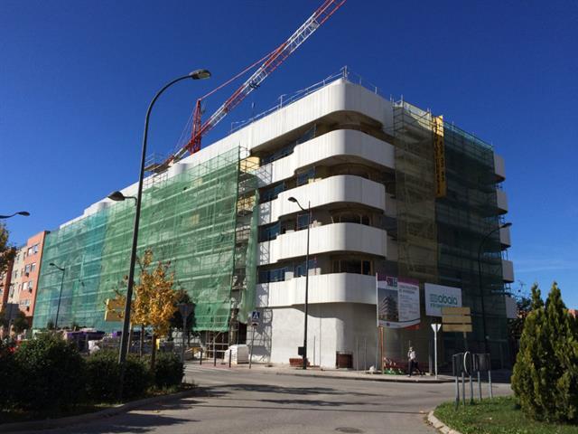 Muy avanzadas las viviendas públicas que la EMSV está construyendo en El Rosón