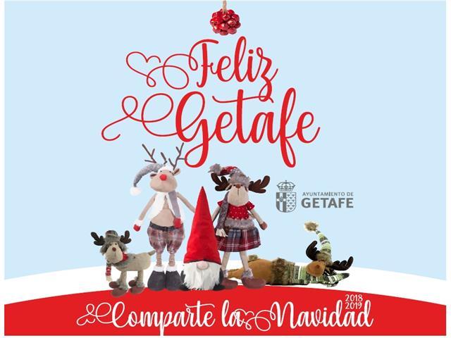 La Navidad se encenderá en Getafe el próximo viernes 14 de diciembre
