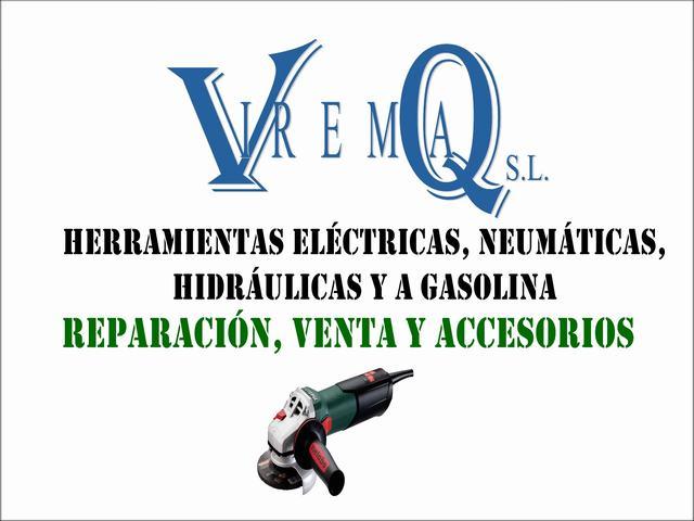 VIREMAQ, REPARACIÓN Y VENTA DE HERRAMIENTAS ELÉCTRICAS Y NEUMÁTICAS EN GETAFE Y MADRID SUR