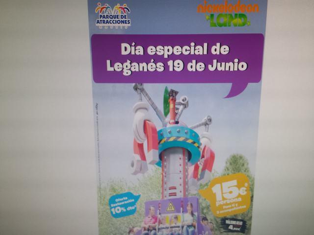 Día de Leganés en el Parque de Atracciones