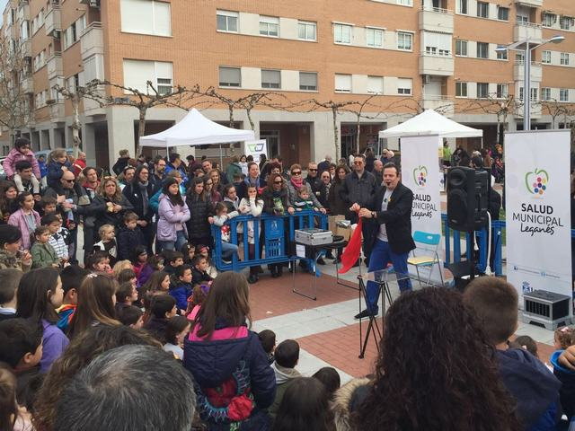 El Ayuntamiento de Leganés celebra con actividades y espectáculos el Día Nacional de la Nutrición