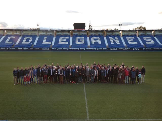 El CD Leganés reafirma su compromiso con los clubes de la ciudad y aumenta un 7% la dotación del convenio de colaboración con 55 entidades deportivas