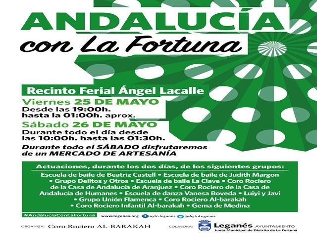 La Fortuna se llenará de flamenco con una gran fiesta de música y artesanía en el Recinto Ferial