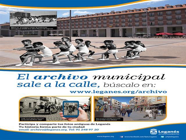 El Ayuntamiento de Leganés invita a los ciudadanos a la participación a través del nuevo portal de difusión del archivo municipal