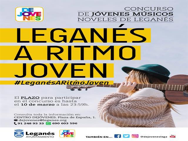 'Leganés a ritmo joven', iniciativa del Ayuntamiento para dar visibilidad y protagonismo a los jóvenes músicos de la ciudad