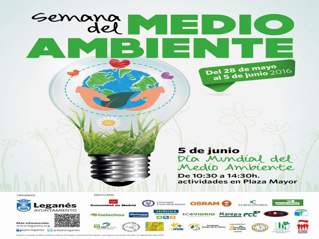 Este domingo en la Plaza Mayor, gran fiesta del Medio Ambiente
