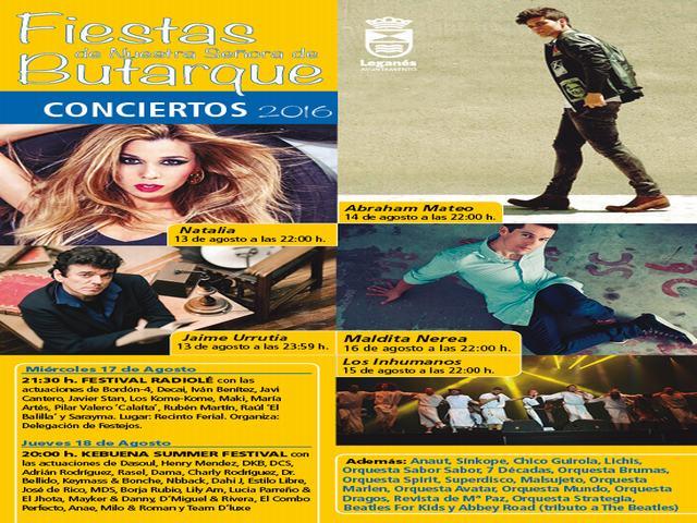 PROGRAMA DE FIESTAS ; MIERCOLES 10 DE AGOSTO