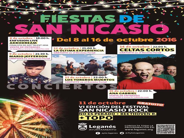 San Nicasio se engalana para comenzar las Fiestas 2016, que tendrán protagonismo de las actividades infantiles, musicales y deportivas