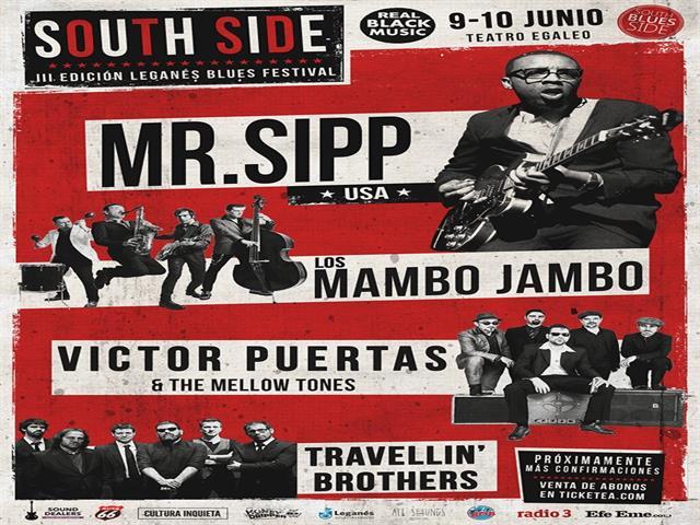 El Festival Leganés South Side confirma a grandes voces del blues internacional en su tercera edición