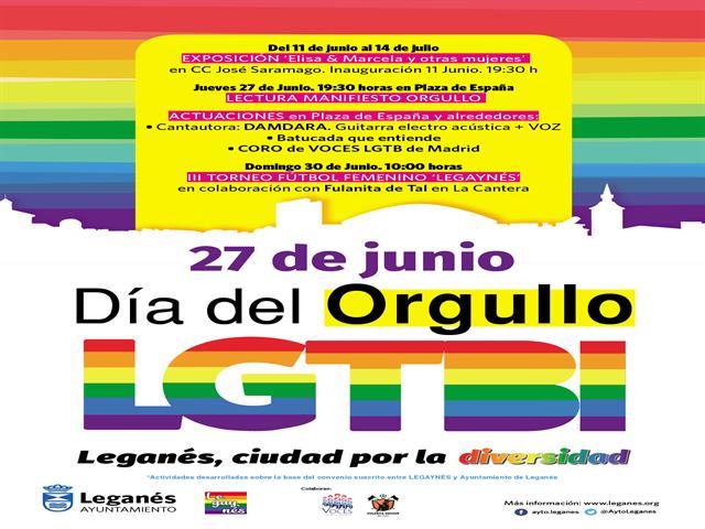 Inaugurada la exposición 'Elisa y Marcela y otras mujeres', que marca el inicio de los actos del Orgullo LGTBI en Leganés