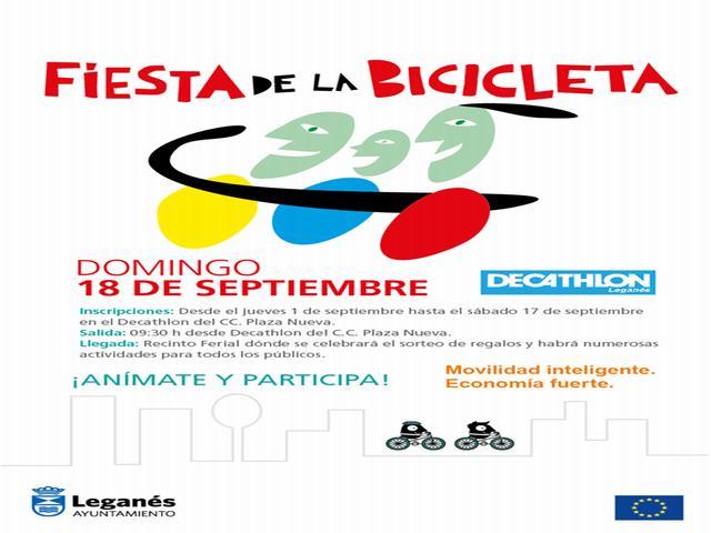 Las bicis tomarán las calles de Leganés para conmemorar la Semana Europea de la Movilidad