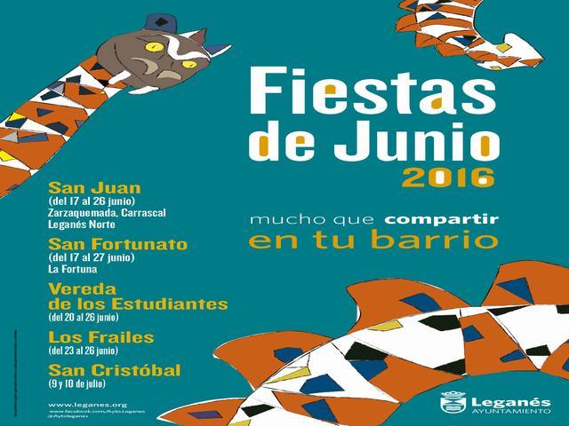 La participación y las actividades en las calles, protagonistas de las Fiestas de Junio