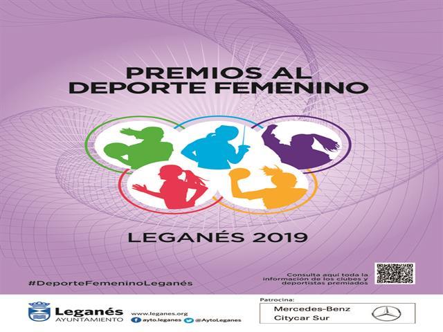 El alcalde y la concejala de Deportes e Igualdad presentan la I Gala del Deporte Femenino, que reconocerá a clubes y deportistas de Leganés
