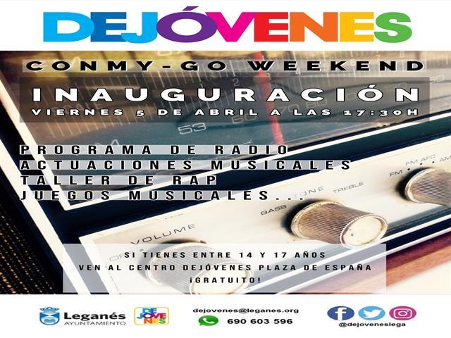 Los jóvenes de Leganés contarán con un espacio abierto con actividades de ocio los viernes y sábados de 17 a 21 horas