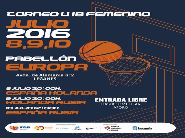Alcalde y concejala de Deportes visitan a la selección española de baloncesto sub 18