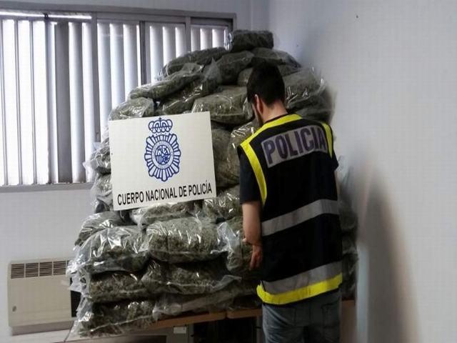 Intervienen 205 kilos de marihuana ocultos entre cebollas