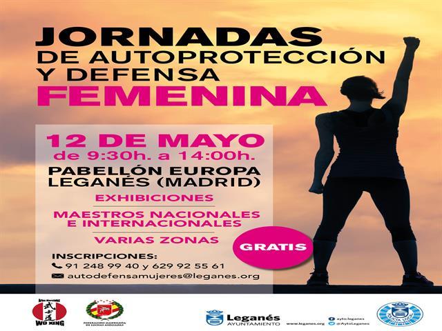 Leganés acoge este sábado una gran jornada de Autoprotección y Defensa Femenina con maestros internacionales