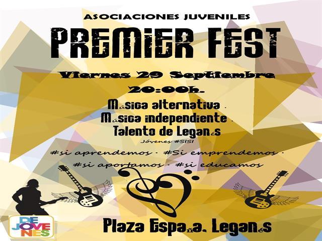 Llega el 'Premier Fest', un festival que mostrará y reivindicará el papel y el talento de los jóvenes de Leganés