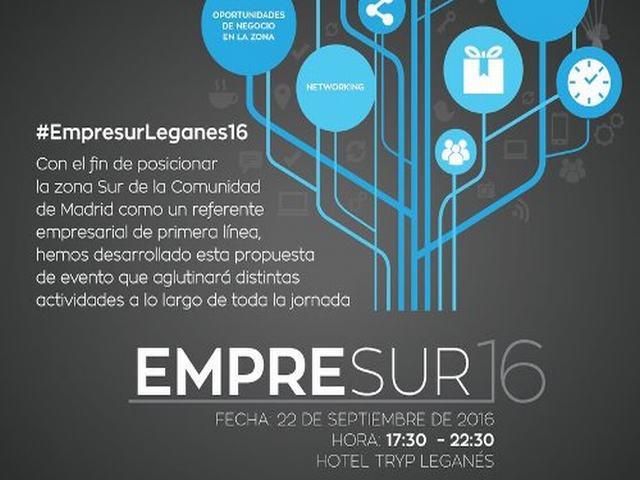 Leganés acogerá el evento Empresur, un encuentro de networking en el que participarán hasta 300 empresarios