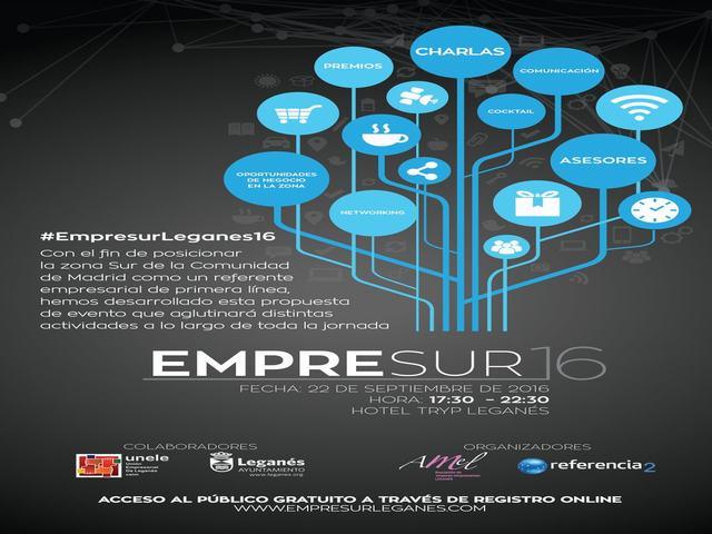 Hasta 300 empresarios del sur de la región participarán este jueves en Leganés en el encuentro de networking Empresur