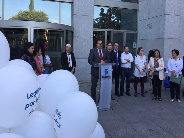 Leganés muestra su apoyo al proceso de paz en Colombia en un acto celebrado en la Casa Consistorial