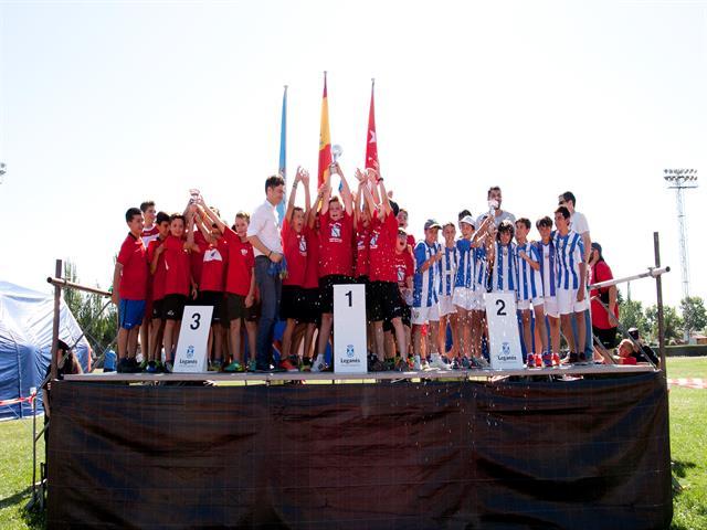 El Ayuntamiento premia a más de 1000 deportistas en las entregas de trofeos al Deporte Infantil y Campeonato Local de Leganés