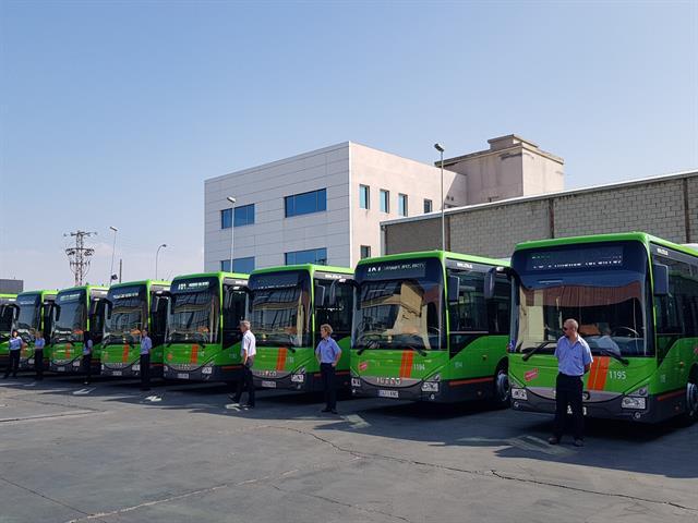 18 nuevos autobuses prestarán servicio en las líneas 480, 483 y 484 de Leganés