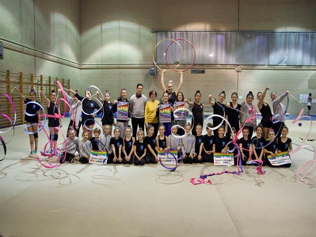 Los deportistas locales se suman a la campaña 'Leganés juega con orgullo' del Ayuntamiento y Legaynés para mostrar el espíritu diverso y tolerante de la ciudad