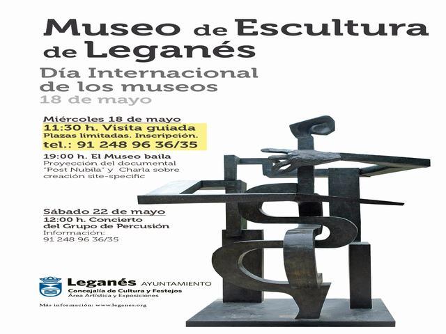 El Ayuntamiento de Leganés programa actividades y espectáculos de danza y música para conmemorar el Día de los Museos