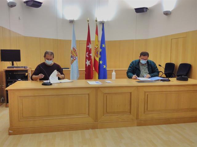 El Ayuntamiento de Leganés y el Instituto Psiquiátrico José Germain firman un acuerdo para el control de las colonias felinas que la  institución tiene en Leganés