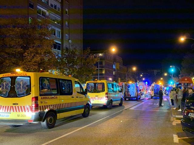 La rápida actuación de Bomberos fue clave en el incendio de una vivienda en la calle La Rioja