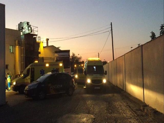 Muere un hombre de 43 años atrapado por una máquina en una empresa cárnica de Leganés