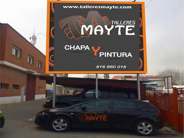 MAYTE, TALLER DE CHAPA Y PINTURA, CALIDAD, MULTIMARCA, COCHE DE SUSTITUCION,