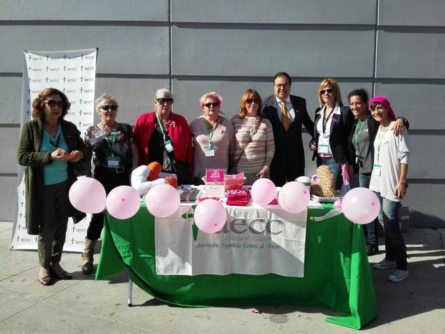 Ayuntamiento, AECC y CD Leganés se unen para concienciar de la lucha contra el cáncer